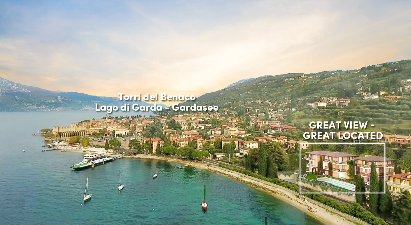 Top Lage direkt am Gardasee - Luxus Apartment